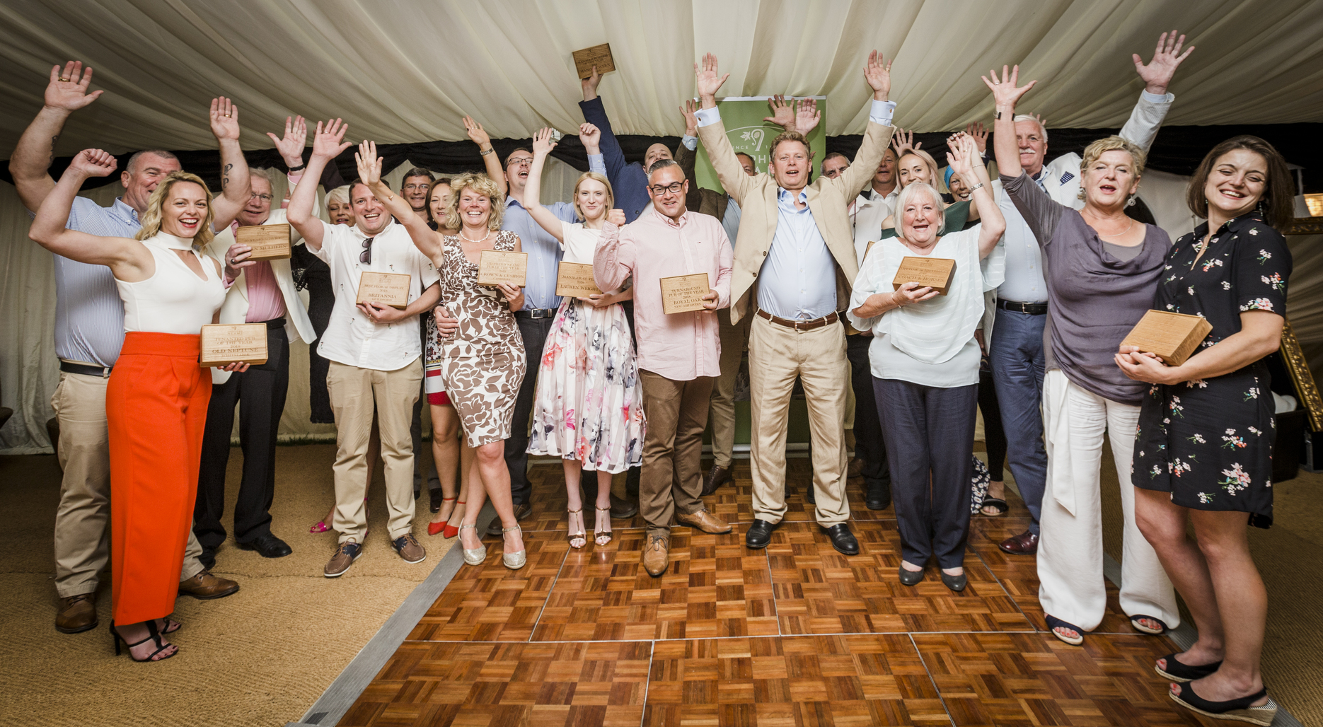 The winners of the Shepherd Neame pub awards 2018