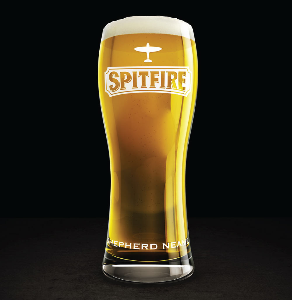 A Pint of Spitfire Gold