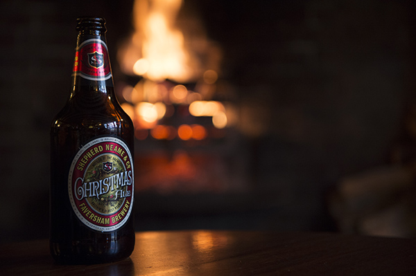 Christmas Ale Roaring Fire