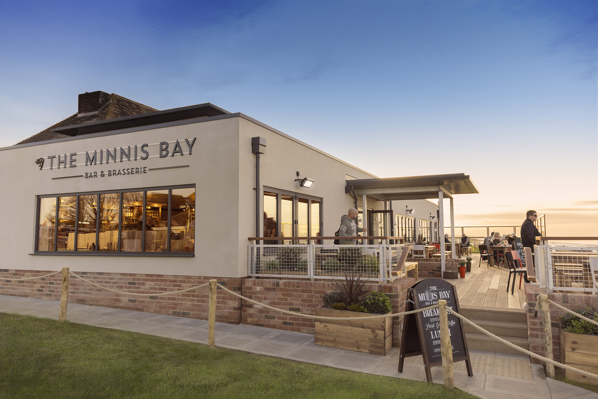 The new-look Minnis Bay Bar and Brasserie