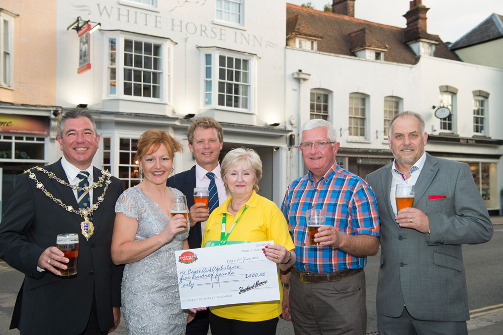 White Horse Maldon Launch after Refurb