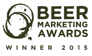 Beer Marketing Awards Badge Winner