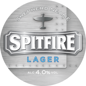 Spitfire Lager - The Lager of Britain